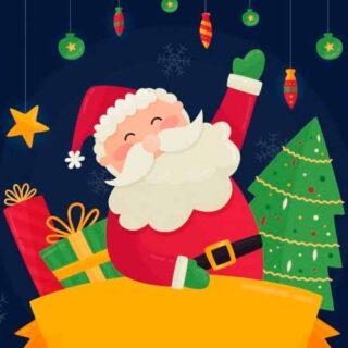 Смешные стихи про Деда Мороза для детей