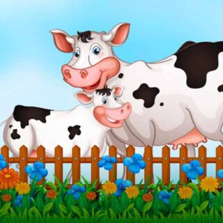 Загадки про корову для детей