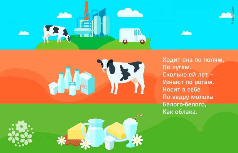 Бодливая корова сказка Ушинского про корову читайте рассказы для детей онлайн - Русская сказка